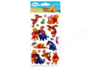 scrapbooking & paper crafts: EK Disney Sticker Winnie The Pooh And Friends