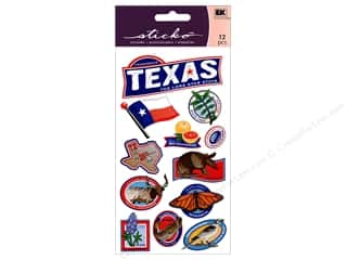 Clearance: EK Sticko Stickers Texas