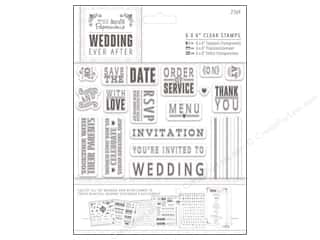 stamps: Docrafts Papermania Wedding Clear Stamp Sentiments