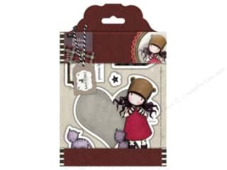 stamps: Docrafts Santoro Gorjuss Stamp Tweed Purrrfect Love
