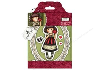 Rubber stamps: Santoro Gorjuss Collectable Rubber Stamp Dear Apple