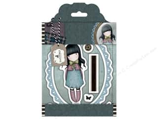 stamps: Santoro Gorjuss Collectable Rubber Stamp Tweed Waiting