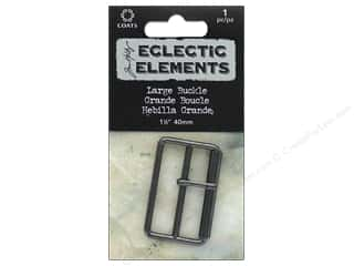 Coats Tim Holtz Eclectic Elements 1 1/2 in. Large Buckle 1 pc. Gunmetal