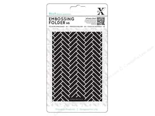 Docrafts Xcut Embossing Folder 4 1/2 x 6 1/2 in. Parquet Tiles