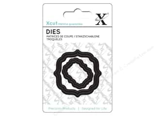 dies: Docrafts Xcut Mini Decorative Dies 2 pc. Parenthesis