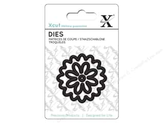die cutting machines: Docrafts Xcut Mini Decorative Dies 3 pc. Flower