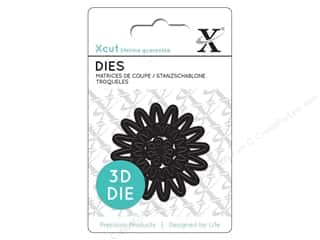 dies: Docrafts Xcut Mini Decorative Dies 1 pc. 3D Flower