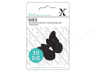 die cutting machines: Docrafts Xcut Mini Decorative Dies 1 pc. 3D Butterfly