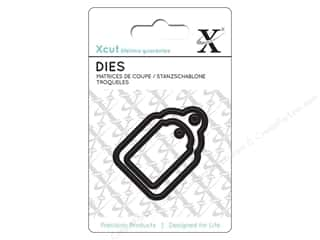 dies: Docrafts Xcut Mini Decorative Dies 2 pc. Gift Tags