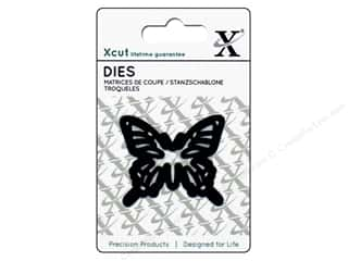 dies: Docrafts Xcut Mini Decorative Dies 1 pc. Butterfly