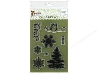 stamps: Photo Play Collection Holiday Cheer Stamp Set