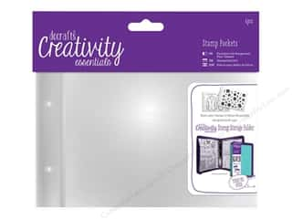 Docrafts Creativity Essentials Clear Stamp Pockets A6 6pc