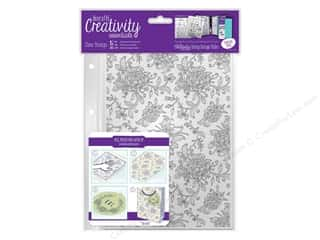Docrafts Creativity Essentials Clear Stamp Background Floral