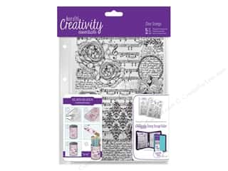 Docrafts Creativity Essentials Clear Stamp Background Musicality