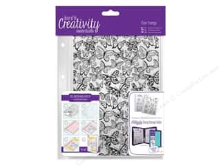 stamps: Docrafts Creativity Essentials Clear Stamp Background Butterflies