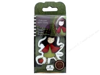 Rubber stamps: Santoro Gorjuss Collectable Rubber Stamp No. 14 Little Red