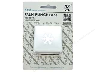 Docrafts Xcut Palm Punch Large 1 in. Snow Crystal