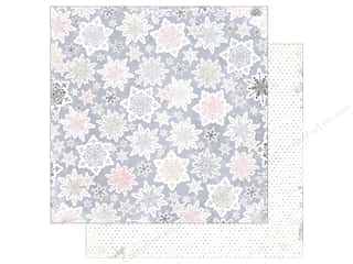 Bo Bunny 12 x 12 in. Paper Winter Wishes Snowfall (25 pieces)