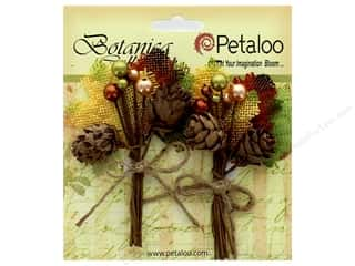 Petaloo Botanica Collection Pinecone Pick Fall Mix