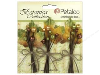 Petaloo Botanica Collection Holiday Velvet Pick Fall Berry