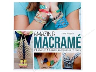 beading & jewelry making supplies: Search Press Amazing Macrame Book