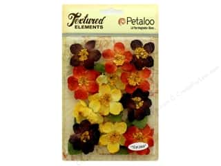 Petaloo Textured Elements Briar Rose Canvas Fall Mix