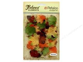 Petaloo Textured Elements Burlap Leaves Fall Mix