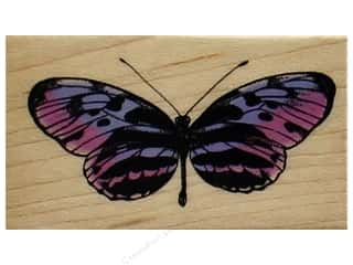 stamps: Inkadinkado Wood Stamp Hello Butterfly