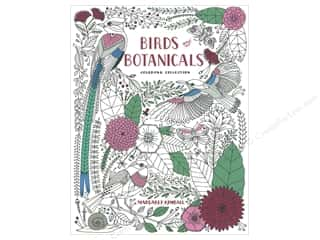 Taunton Press Birds and Botanicals Coloring Book Picture