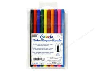 craft & hobbies: Uchida ColorIn Markers Fine Tip 10 pc. Primary