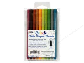 craft & hobbies: Uchida ColorIn Markers Fine Tip 10 pc. Natural