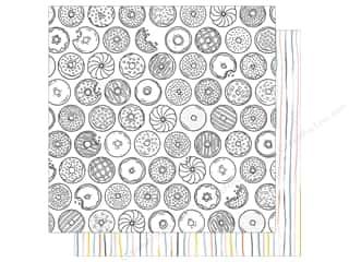 American Crafts 12 x 12 in. Paper Oh Happy Life Midnight Snack (25 sheets)
