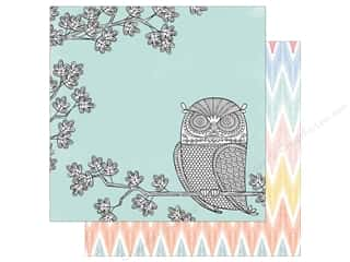 American Crafts 12 x 12 in. Paper Oh Happy Life Night Owl (25 sheets)