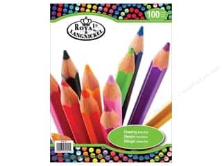 craft & hobbies: Royal Drawing Artist Pad 9 x 12 in.