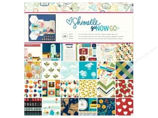 "American Crafts Collection Shimelle Go Now Go Paper Pad 12""x 12"""