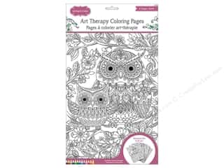 Multicraft Living In Color Art Therapy Color Pages Woodland Zen