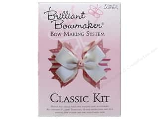 scrapbooking & paper crafts: Little Pink Ladybug Brilliant Bowmaker Kit Classic