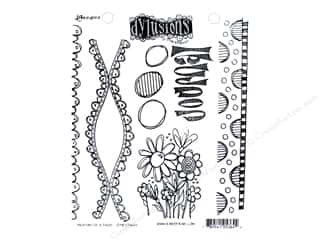 stamps: Ranger Dylusions Cling Mount Stamps Anatomy Of A Page