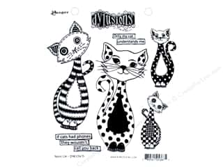 stamps: Ranger Stamp Dylusions Puddy Cat