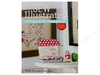 Sew Illustrated - 35 Charming Fabric & Thread Designs: 16 Zakka Projects Book by Minki Kim and Kristin Esser