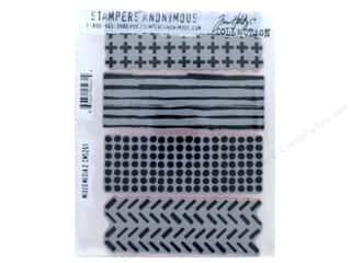 Tim Holtz Cling Mount Stamp Set 3 pc. Mixed Media 2