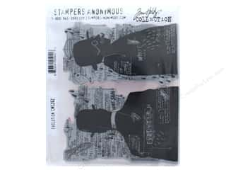 stamps: Tim Holtz Cling Mount Stamp Set 2 pc. Evolution