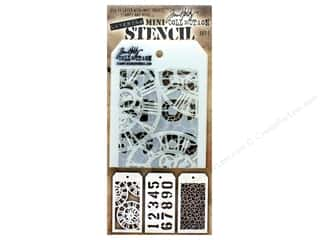 craft & hobbies: Tim Holtz Layering Stencil Set Mini #2