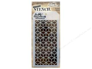 craft & hobbies: Stampers Anonymous Tim Holtz Layering Stencil - Blocks