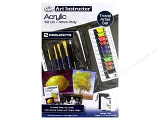 craft & hobbies: Royal Set Art Instructor Travel Acrylic