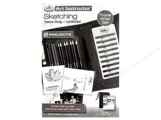 Royal Art Instructor Travel Set Sketching