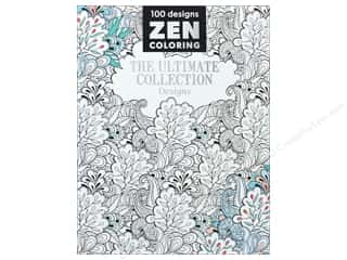 books & patterns: Zen Coloring The Ultimate Collection Designs Book