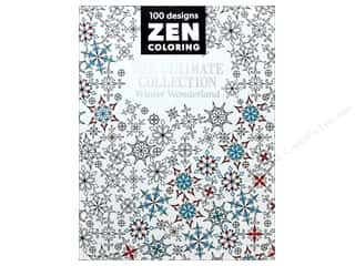 books & patterns: Zen Coloring Ultimate Collection Winter Wonderland Book