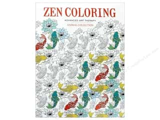Zen Coloring Animal Collection Book