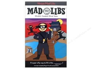 Ninjas Mad Libs Book